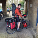 Scotty on his bike